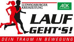 Lauf geht's Ludwigsburg Logo